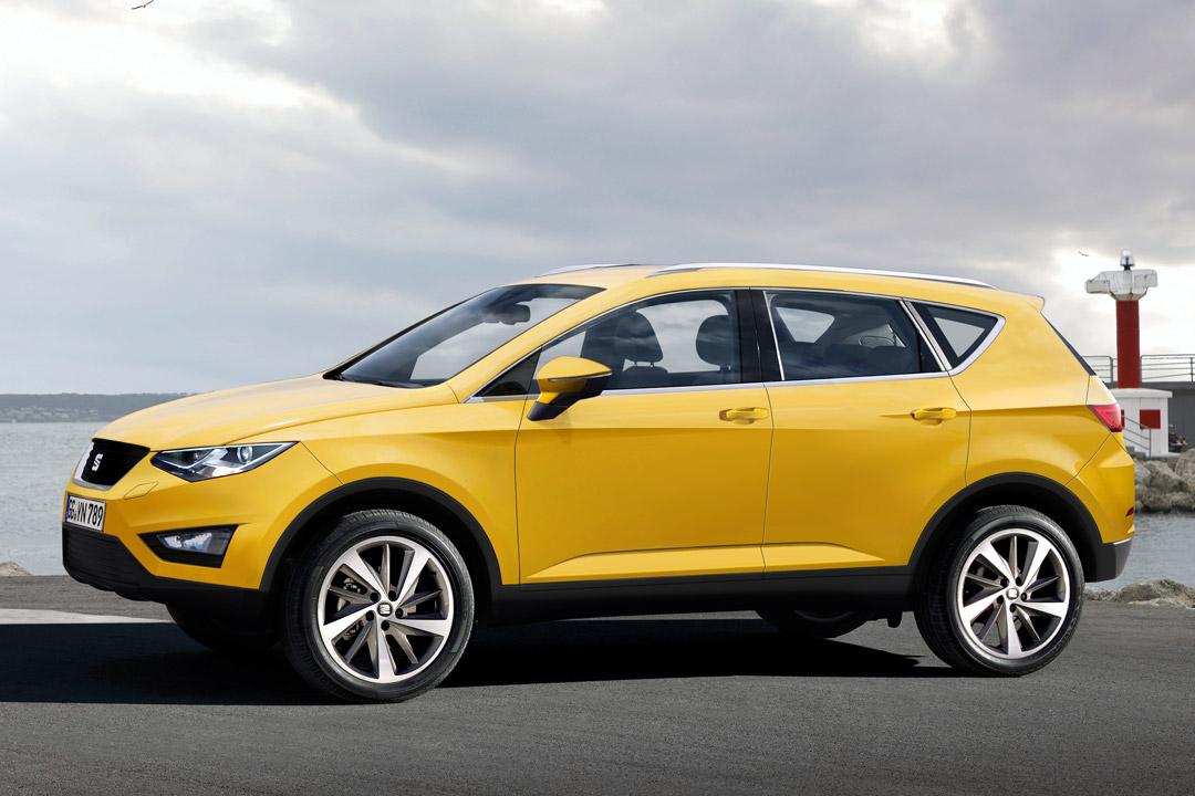 SEAT BRINGT 2016 ERSTMALS EINEN SUV