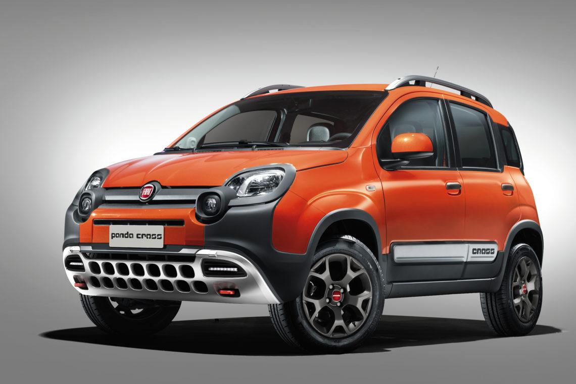 4 Pfoten für Geländegang: Fiat Panda Cross 4×4