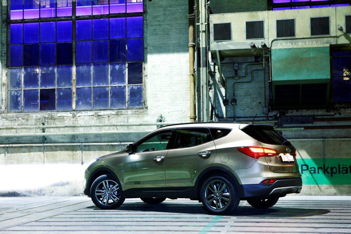 Sicher ist sicher: Der Hyundai Santa Fe