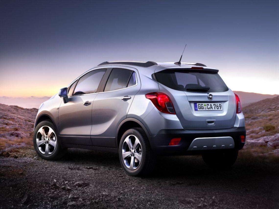 Der Opel Mokka, klein und stark