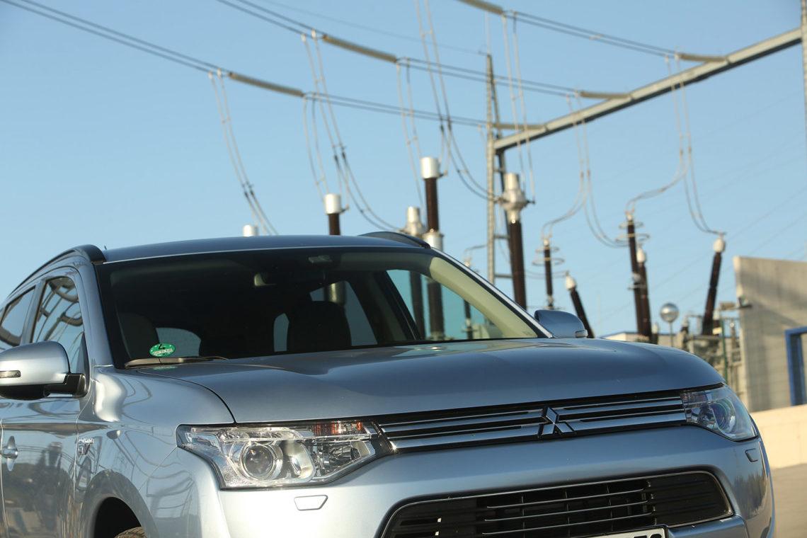 Unter Strom: der Mitsubishi Outlander PHEV alias Plug-In Hybrid