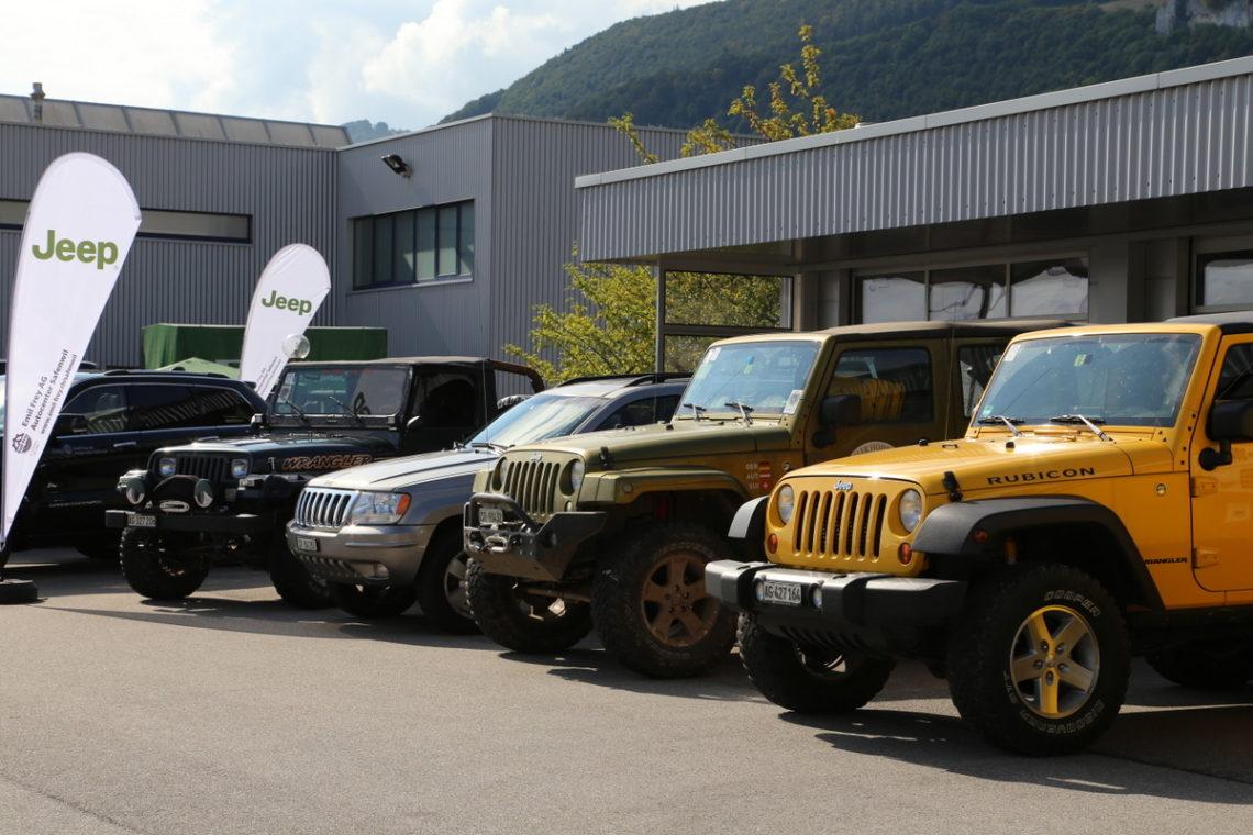 6. Jeep-Treffen in Oensingen: 30./31. August 2014