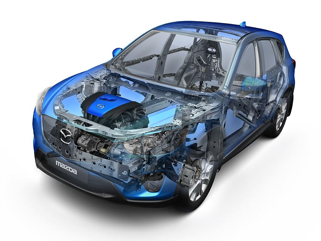 Der kompakte SUV Mazda CX 5, weiterhin gefragt.