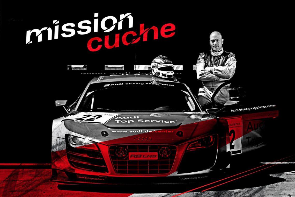 Audi R8 LMS ultra - Didier Cuche