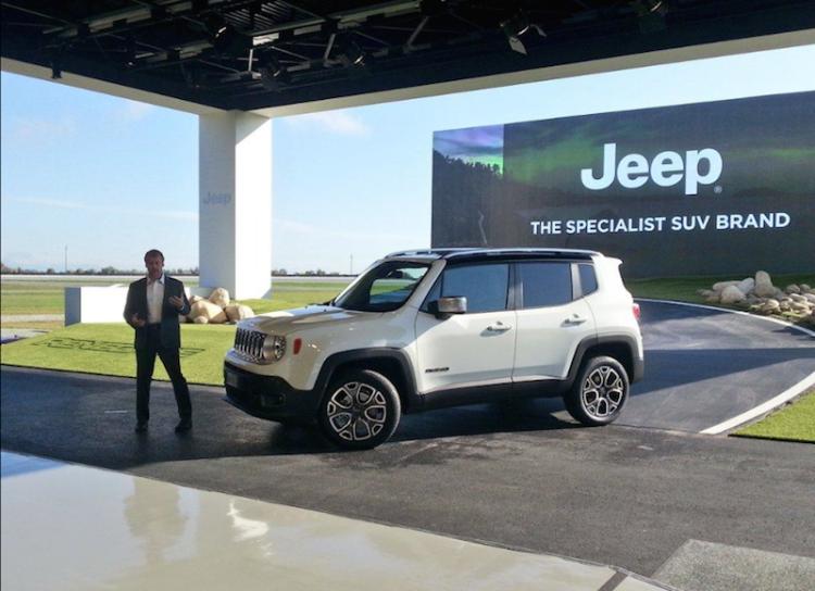Jeep Renegade 2015 Präsentation Europa