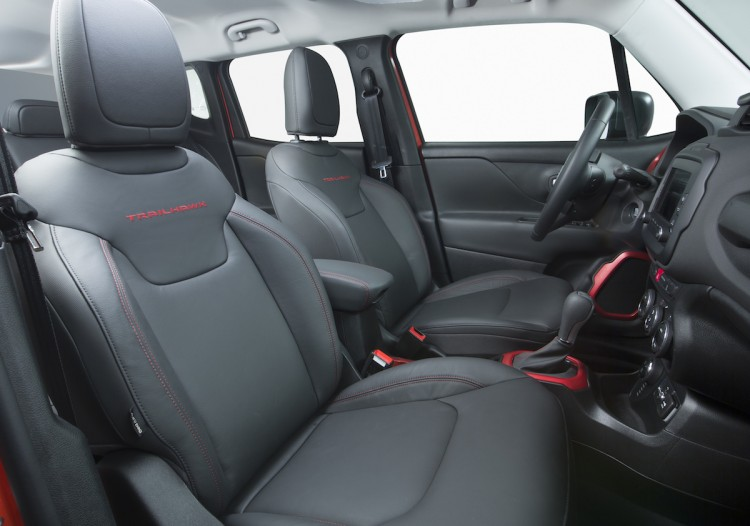 Jeep Renegade 2015 Trailhawk Interior
