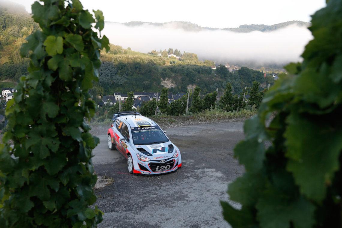 Doppelsieg für Hyundai bei Rallye Deutschland