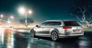 VW Passat Variant 4Motion - Seite/hinten