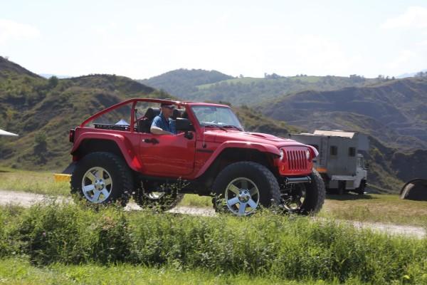 Jeep Camp Italia 2014 Mopar Super-Wrangler