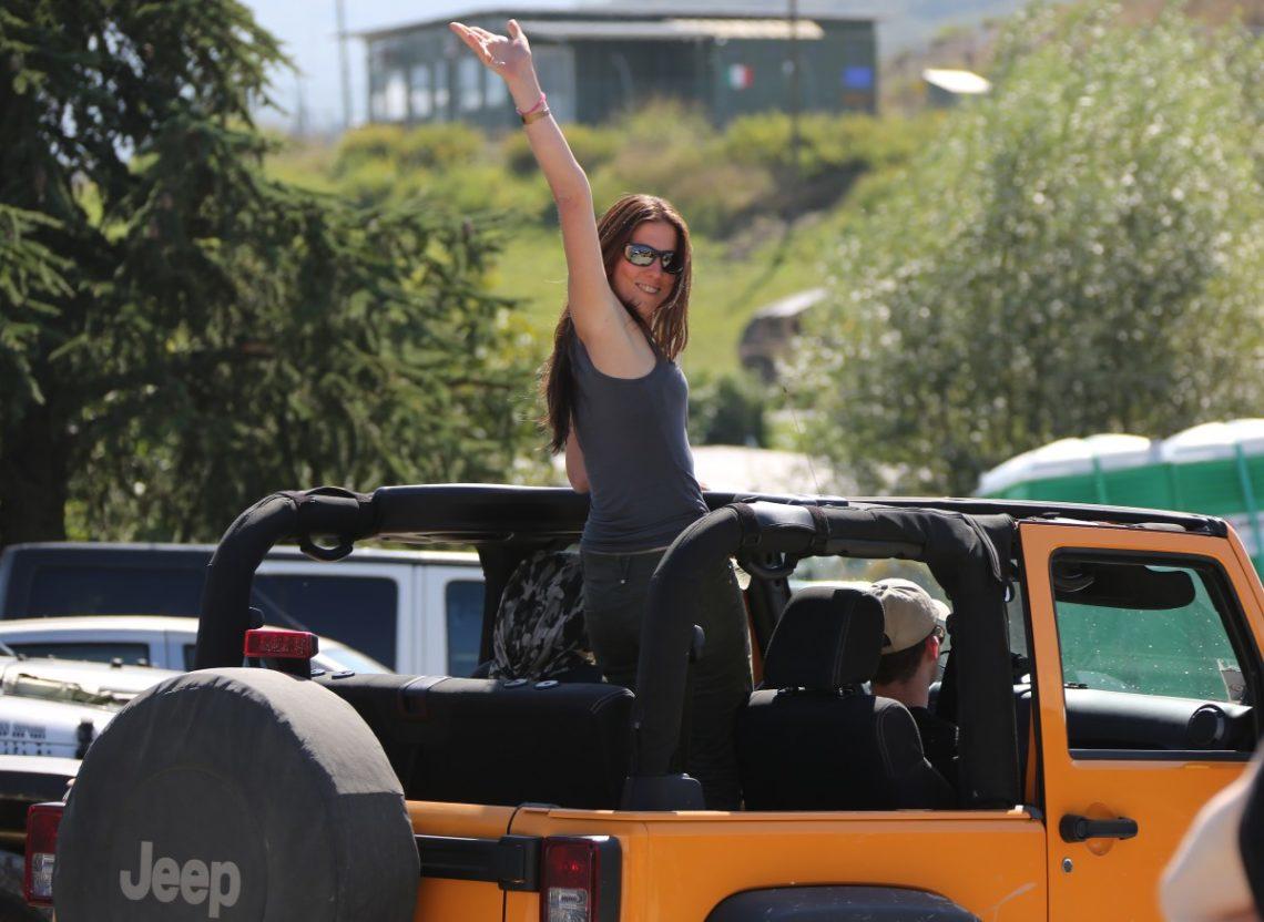 Jeep Camp Italia 2014 Beifahrerin