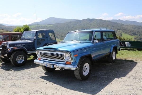 Jeep Camp Italia 2014 Oldtimer