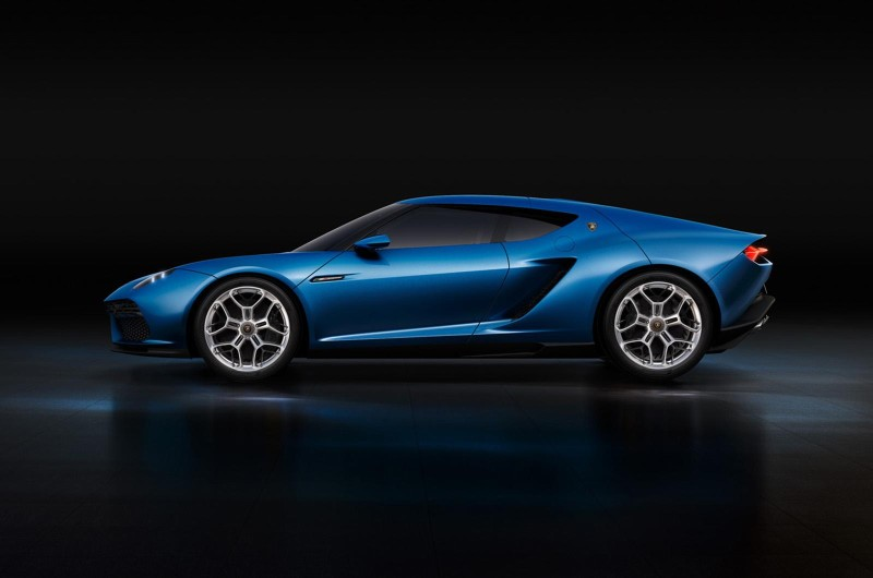 Lamborghini Asterion LPI 910-4 Concept – halb Mann, halb Stier.