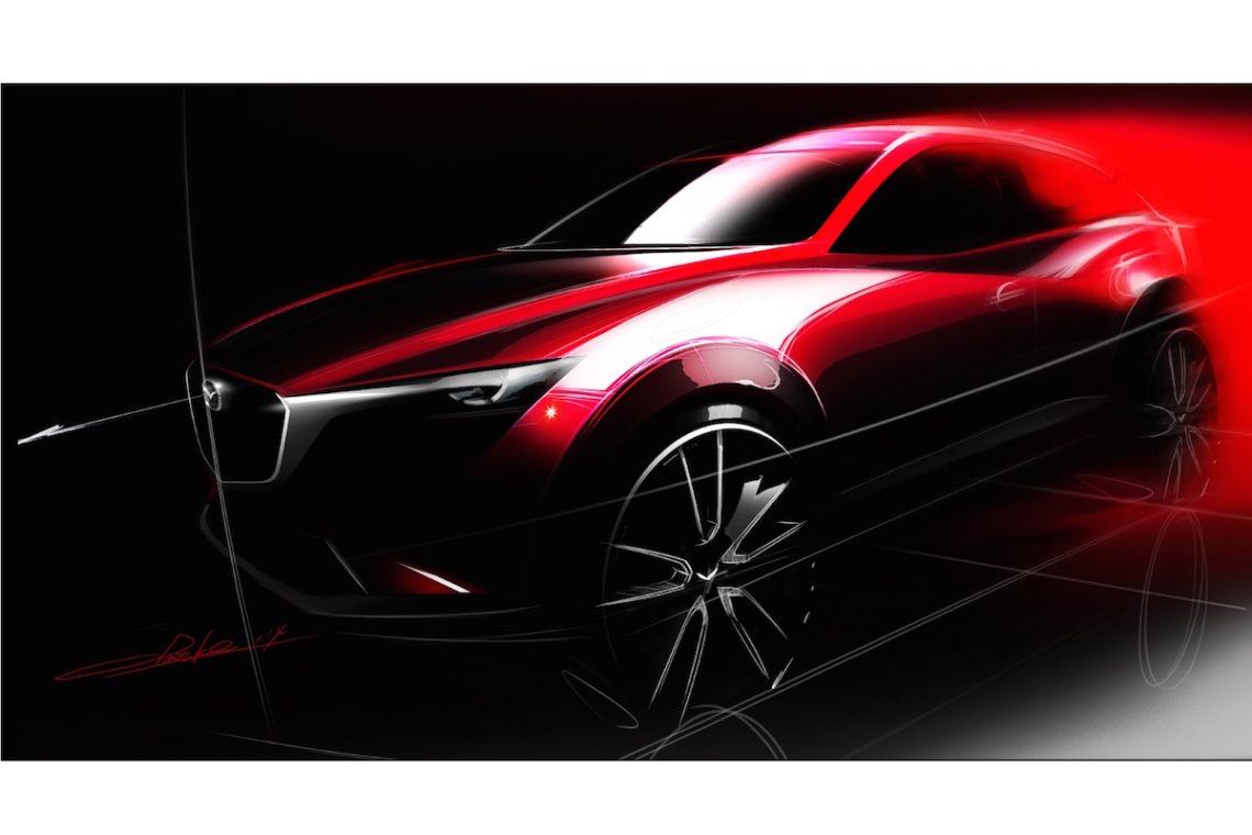 Mazda CX-3 – der neue japanischer Mini-Kraxler