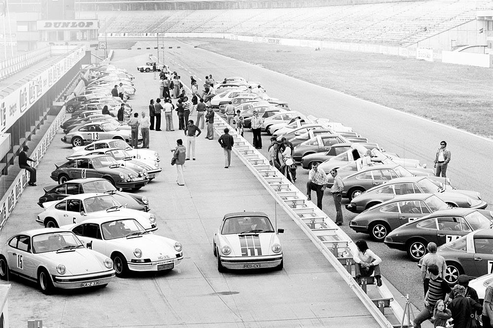 Porsche Sport Driving School 1974