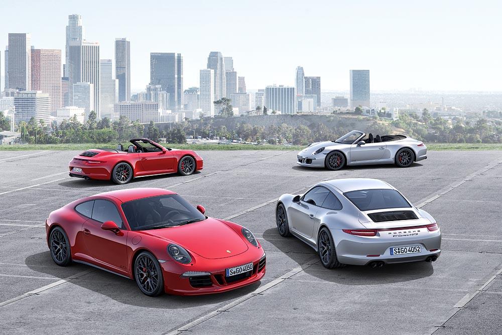 Porsche Carrera 4 GTS Familie