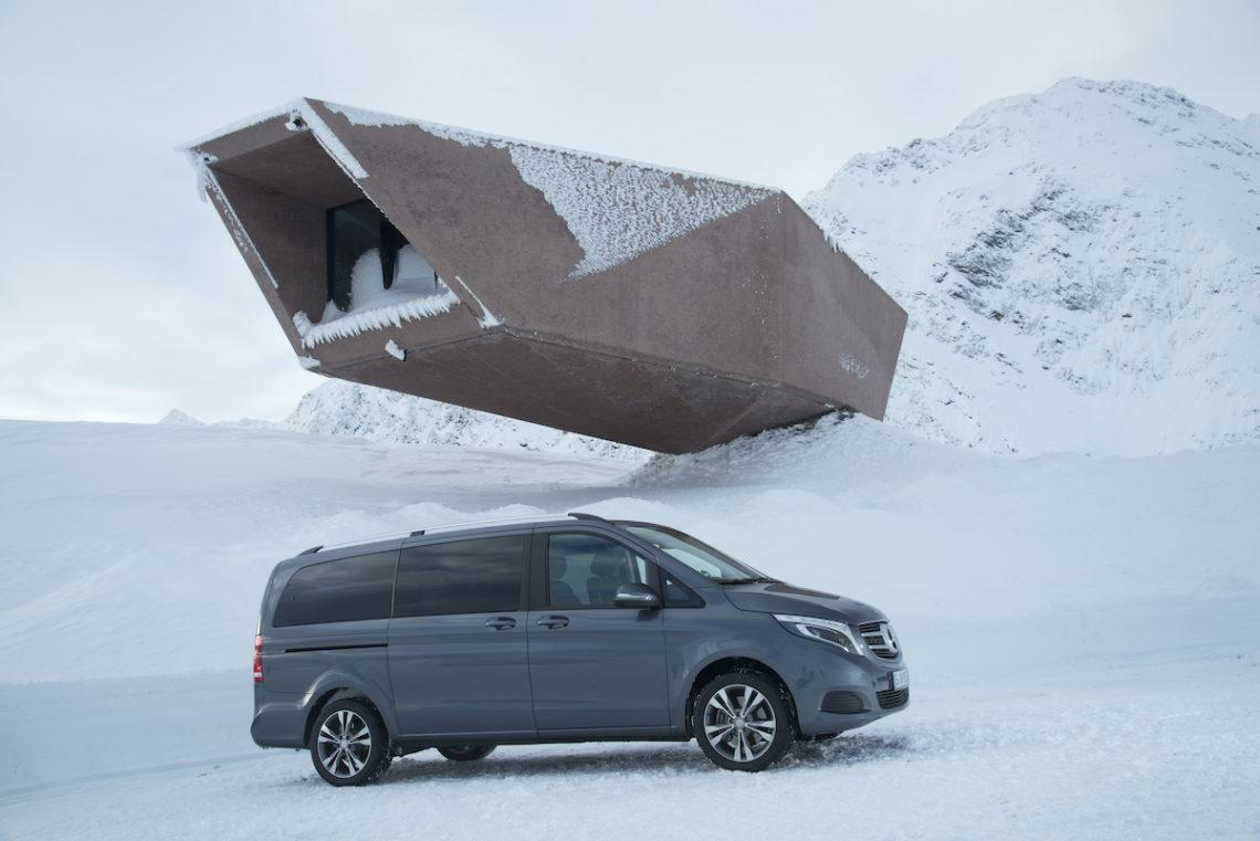 Mercedes V-Klasse jetzt auch mit Allradantrieb