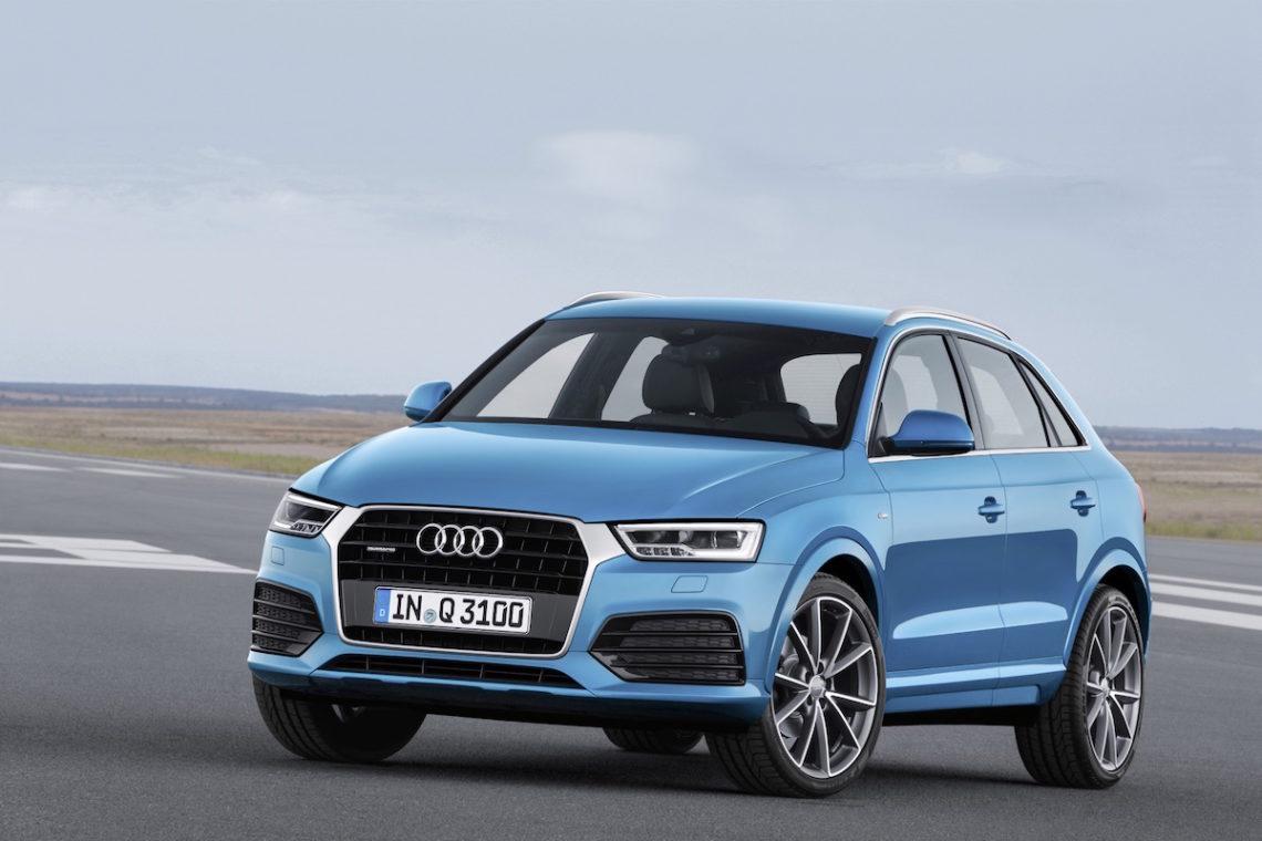 Audi Q3 Facelift 2015