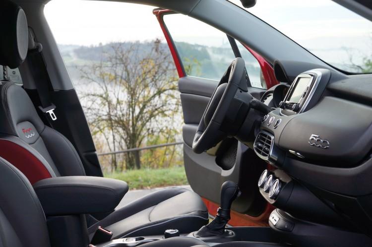 Fiat 500X Cross Interior