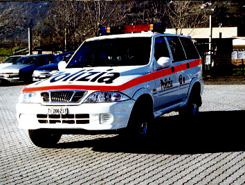 Daewoo Musso Polizia
