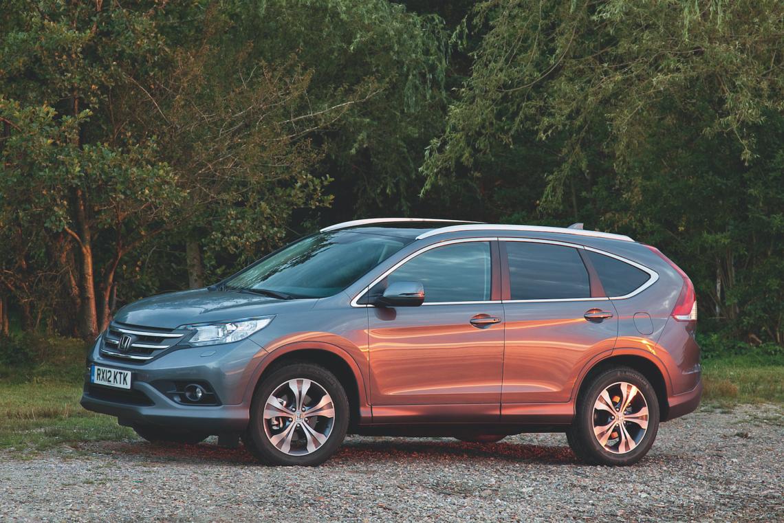 Kleiner, frecher SUV – der Honda CR-V macht Spass