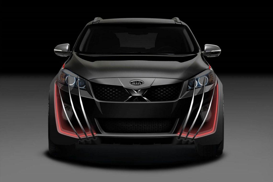 Kia-X-Car – Mutanten-Werwolf auf Rädern