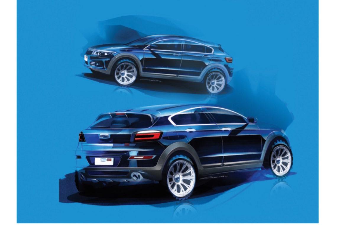 Qoros SUV 2015