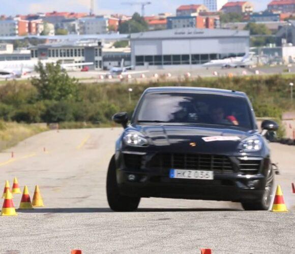 Porsche Macan Elchtest