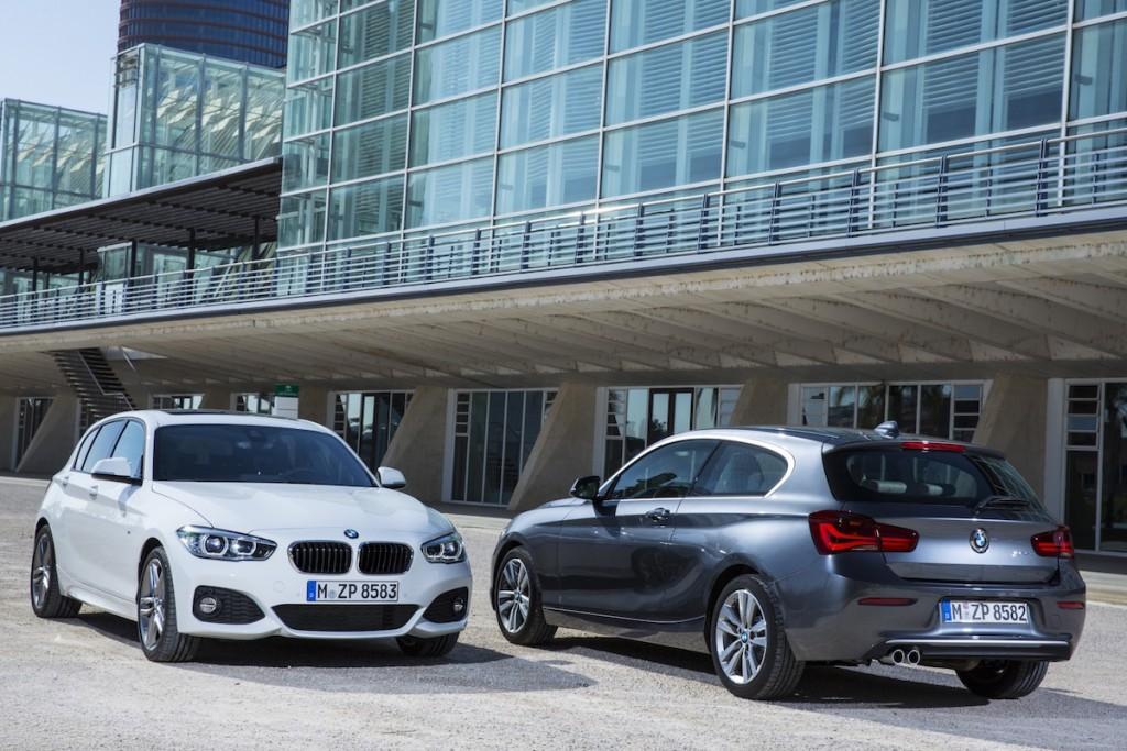 Den kleinsten BMW gibt es weiterhin mit drei oder fünf Türen
