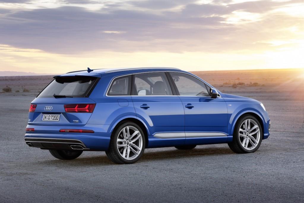 Audi stellt den neuen Q7 auf der Detroit Auto Show 2015 vor