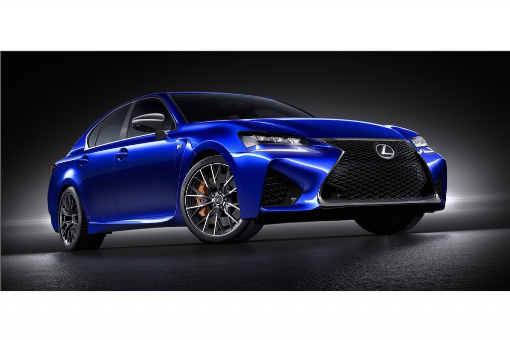 Lexus stellt Sportversion des GS auf der Detroit Auto Show 2015 vor