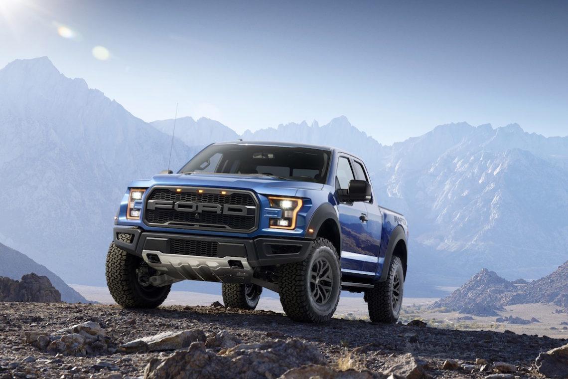 Der neue Ford Raptors 2015