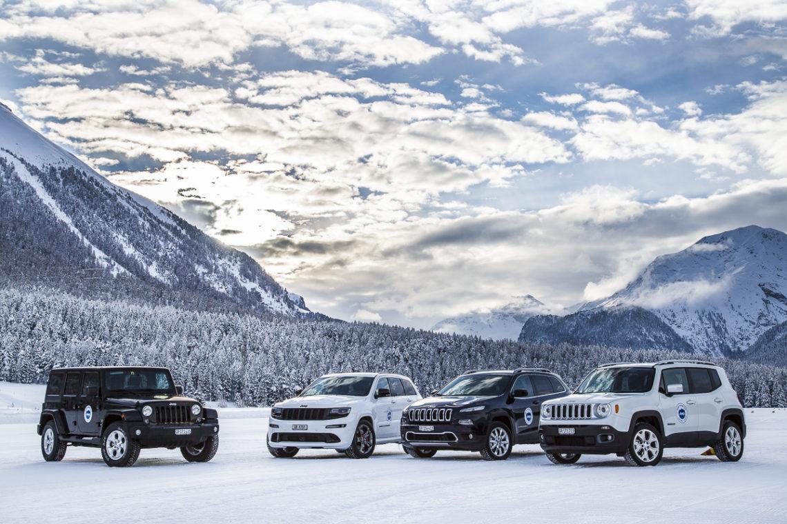 Jeep Winterfahrtraining 2015