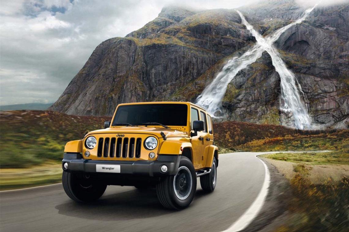 Jeep Wrangler X. Mit dem Sondermodell ins neue Jahr.