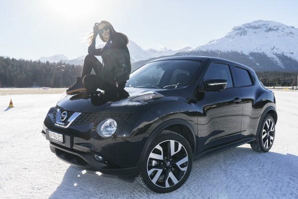 Bianca Gubser neue Nissan Markenbotschafterin  in der Schweiz