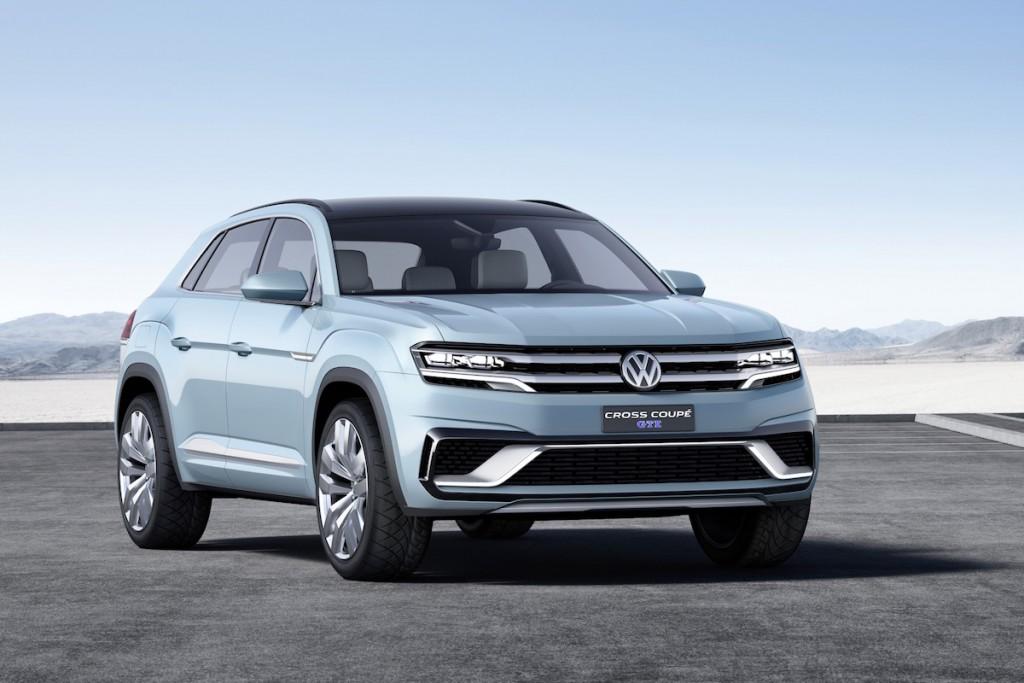 VW zeigt in Detroit die Studie seines Mittelklasse-SUV