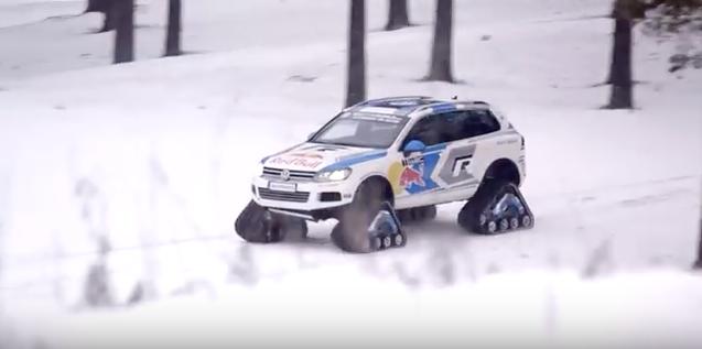VW Snowareg mit Raupenantrieb