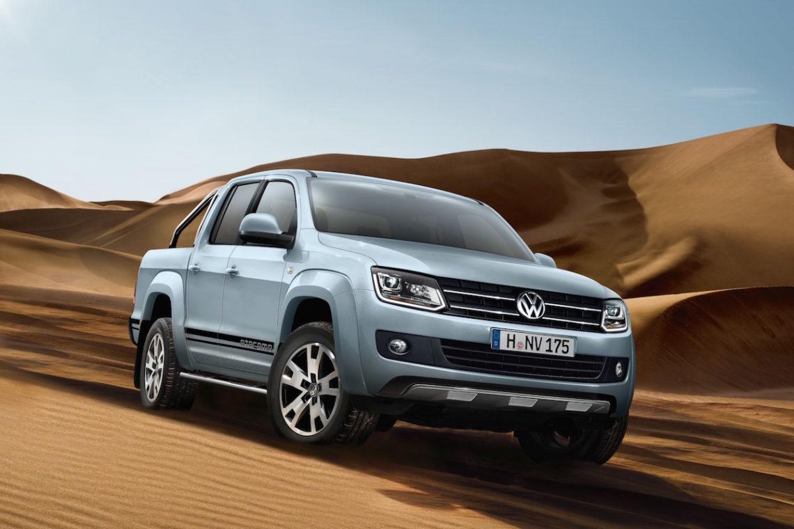 Mit dem VW Amarok Atacama die Welt erobern