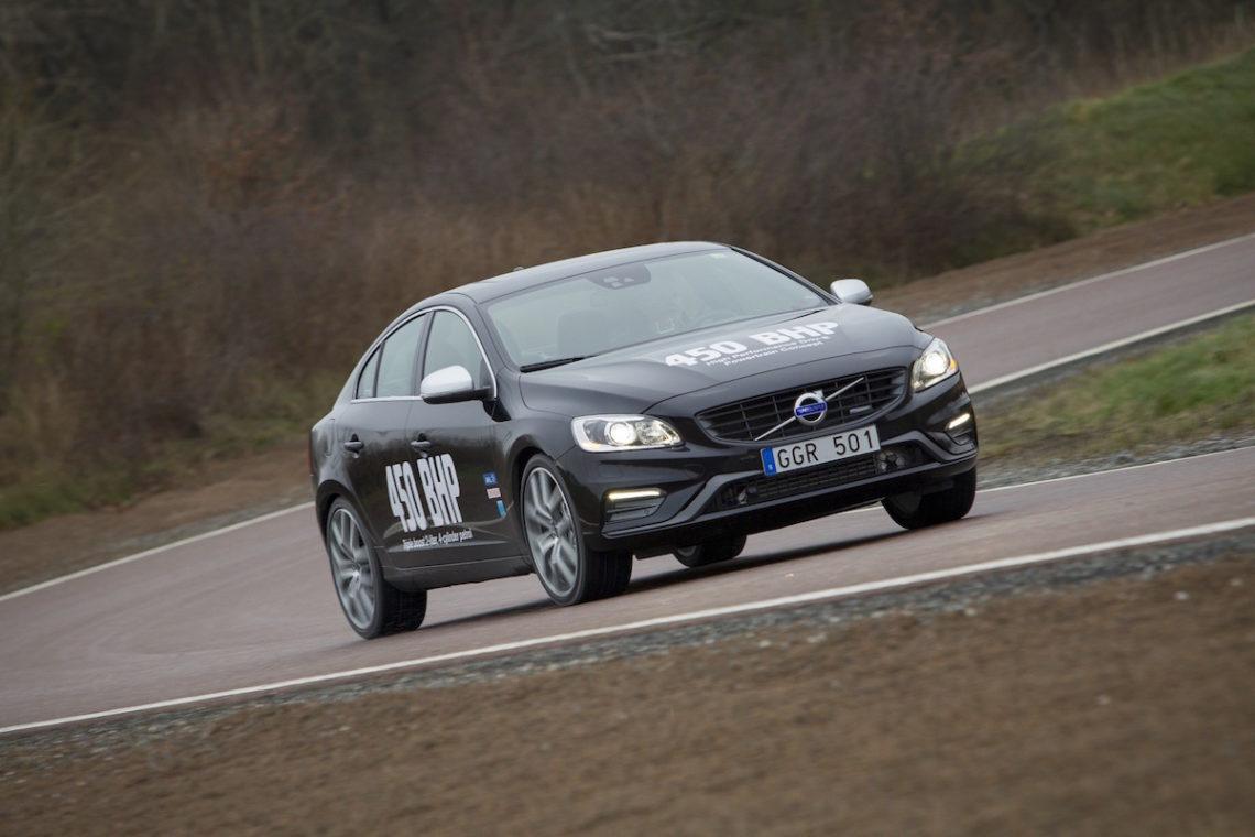 Volvo baut den stärksten 4-Zylinder der Welt