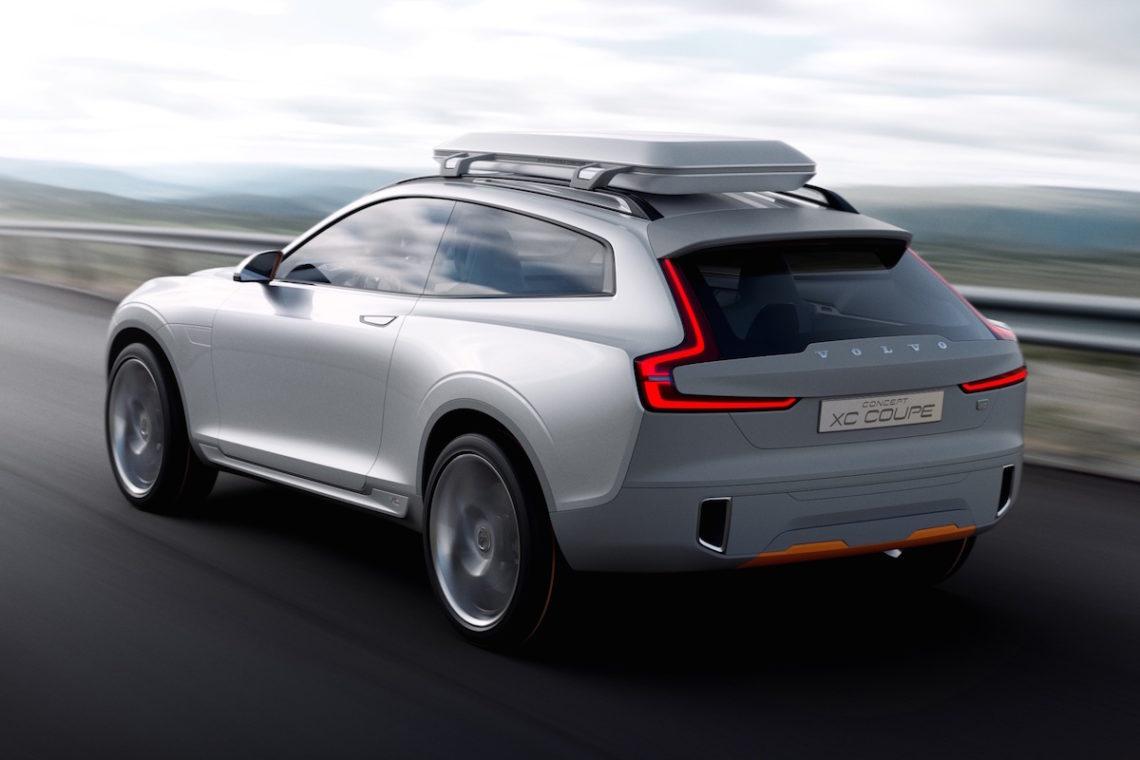 Volvo Concept XC Coupe: Schwedens neues Gesicht
