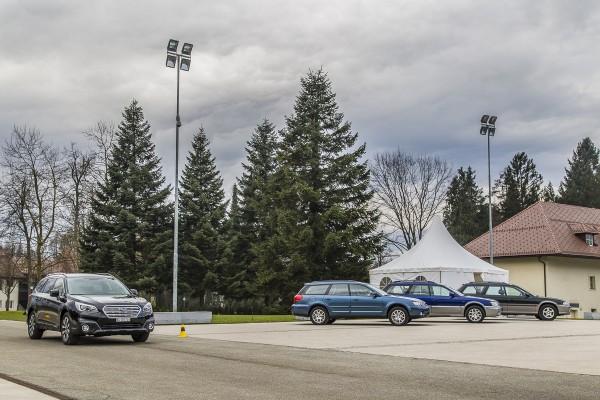 Subaru Outback 2015 History 4 Generations