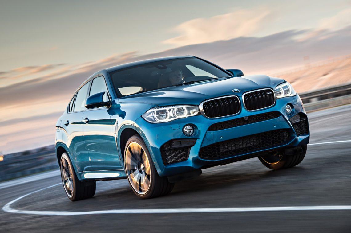 BMW X6 M 2015 Front