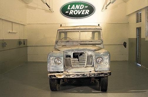Land Rover Series III Bob Marley vor der Restauration