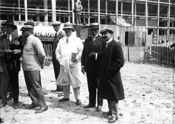 Ettore Bugatti at the 1925 French Grand Prix