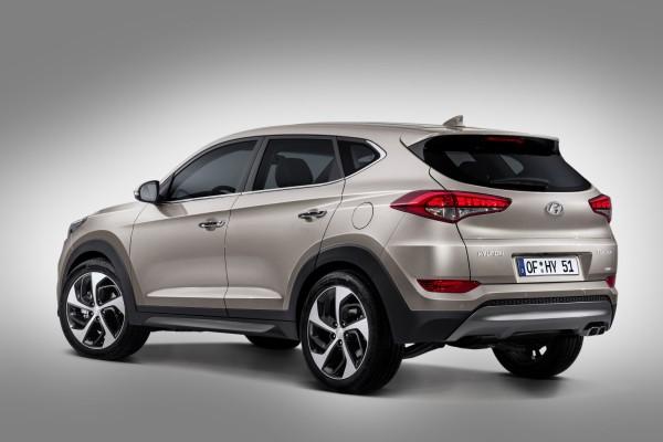 Hyundai Tucson 2015 AWD Heck