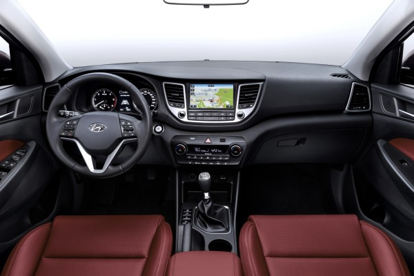 Hyundai Tucson 2015 AWD Interior