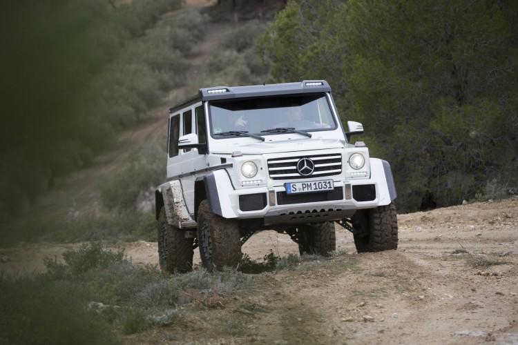 Mercedes-Benz G-Klasse hoch2