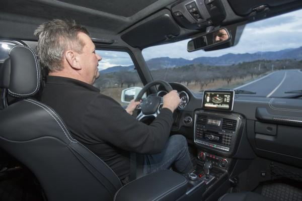 Mercedes-Benz G500 4x4² Testfahrer Wonisch