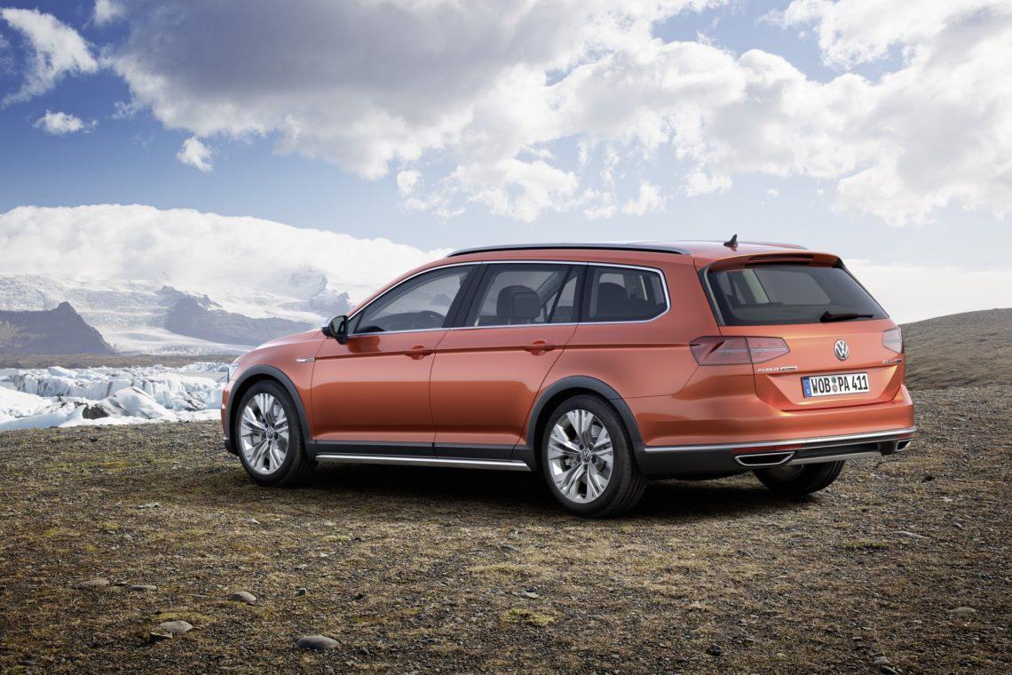 VW Passat Alltrack immer mit Allradantrieb