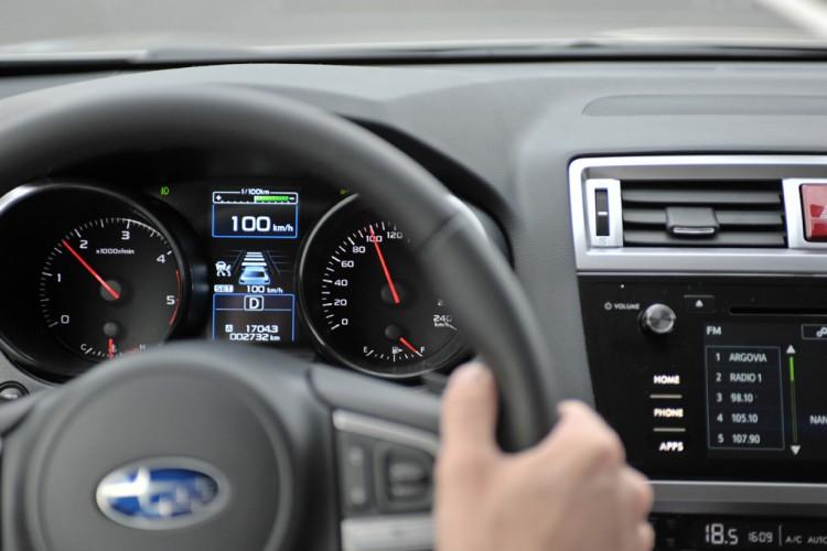 Subaru Outback 2015 Interieur Overall