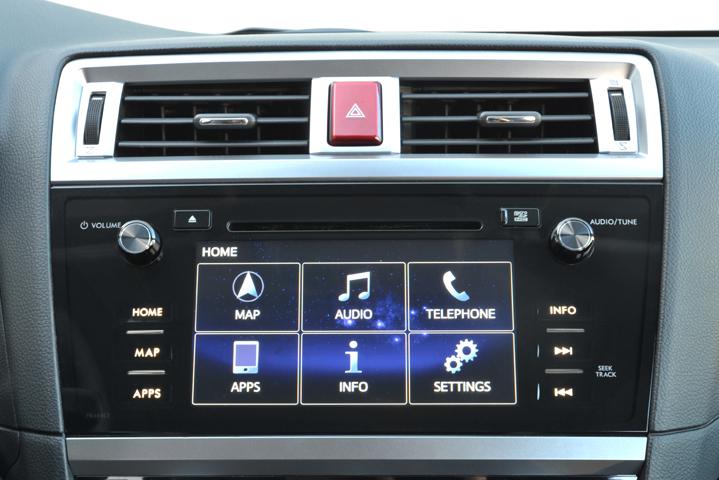 Subaru Outback 2015 Interieur Navi